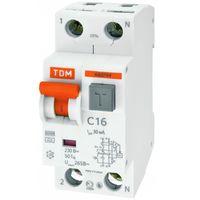 АВДТ 64  C10 30mА automat dif. TDM