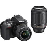 Зеркальная фотокамера NIKON D3300 Kit 18-55VR55-200VR