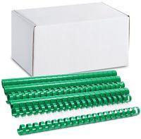 ARGO Пружина пластиковая ARGO A4/19мм, 100 штук, зеленая