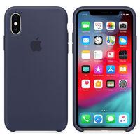 Apple Original Silicone Case Iphone XS, Midnight Blue