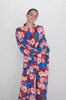 Блуза ZARA Цветочный принт 7935/070/600