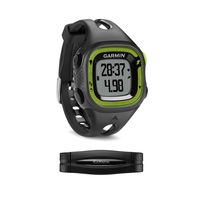 GARMIN Forerunner 15 Bundle - Small - Black & Green, 55x32, GPS