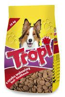 Tropi  корм сухой  для собак, говядина , 10кг