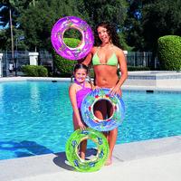 Круг плавательный 56см ,3 цвета, 3-6лет