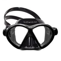 Маска для дайвинга SubGear Vibe2 mask black/black 824 103 101