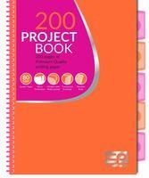Блокнот с перегородками CoolPack оранжевый с розовым A4