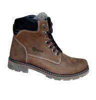 Ботинки Мужские из натурального нубука на натуральном меху Hunter 1 AZ