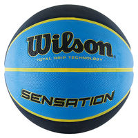 Мяч баскетбольный №7 Wilson Sensation SR295 BLKBLU WTB9118XB0702 (4088)