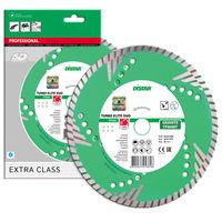 купить Алмазный отрезной диск Distar Turbo 230*3.0*10*22.225 z5 Elite Duo в Кишинёве
