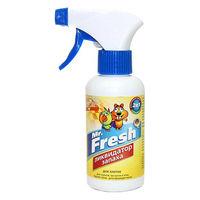 Mr.Fresh 2в1 Ликвидатор запаха для  птиц и грызунов, 200мл
