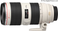 Zoom Lens Canon EF  70-200mm f/2.8 L IS II USM