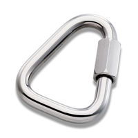 Mailon Petzl Maillon Delta 10 mm, 45/10 kN, steel, P11
