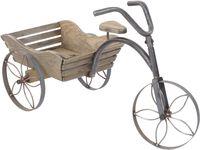Велосипед декоративный с ящиком для цветов 68X30X40cm