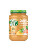 VITA Baby пюре яблоко-абрикос со сливками 180 г