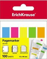 EKRAUSE Закладки клейкие EKRAUSE 12x44мм/5x20 листов, пластик