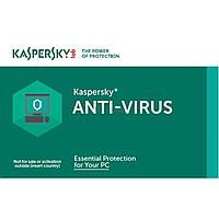 Kaspersky Anti-Virus Card 2Dt Renewal 1 year
