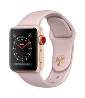 APPLE 38 Ser3 GPS + Cellular Gold + Pink Band (MQJQ2), Розовый