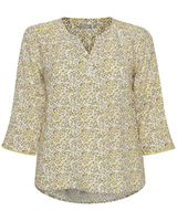 Блуза Fransa Белый с цветами 20605593
