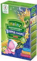 Heinz Многозерновая из 3 злаков ПЕРЕД СНОМ с липой и ромашкой без молока (6m+)