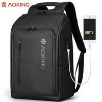 Bодонепроницаемый мужской рюкзак Aoking SN77886 для деловых путешествий.