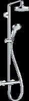Sistema de  dushansgrohe Croma Select S Showerpipe 180 2jet  cu termostat