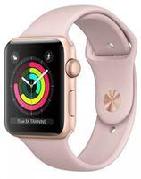 Apple Watch 3 42mm Gold Aluminum Case Pink Sport Band