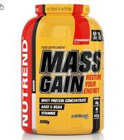 1. Гейнер для набора массы MASS GAIN 2.250 g