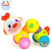 Huile Toys Музыкальная гусеничка