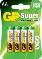 купить Батарейка GP 1.5V Super 15A-2UE4   (15A-U4)   (4 шт.блистер) в Кишинёве