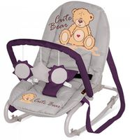 Bertoni Top Relax Grey&Violet Bear