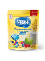 Nestle terci multiceriale cu lapte, mere, afine şi zmeură, 6+ luni, 220 g