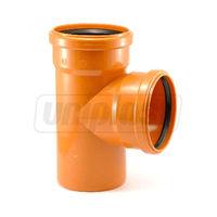 купить Тройник ПВХ ф. 110 / 110 x 90° (нар) *ПП  SN2 Uniplast в Кишинёве