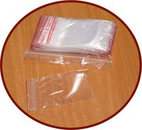 Пакет пластиковый 70х100мм с застежкой, 100 штук