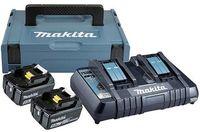 Acumulator și încărcător pentru scule electrice Makita 197629-2