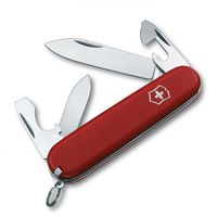 Нож Recruit 0.2503.B1 The Original Swiss Army Knives, 84 мм, красный