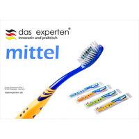 Зубные щетки Das Experten Mittel, Multicolor