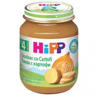 Hipp пюре тыква с картофелем, 4+мес. 125г