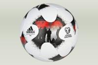 cumpără Minge fotbal Adidas EUROPEAN QUALIFIERS MINI AO4838 white/black-red în Chișinău