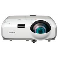 """XGA LCD Projector Epson EB-420 2500Lum, 3000:1, XGA (1024х768), 3LCD,Зум *1,35 """"Технология: LCD: 3 х 0.55"""" P-Si TFT Короткофокусный объектив (отношение проекции 0.55-0.74:1) Яркость: 2500 ANSI lm Контрастность: 3 000:1 Разрешение: XGA (1024х768) Ресурс лампы: 6000 часов Встроенный динамик 16 Вт Возможность подключения микрофона Коррекция вертикальных и горизонтальных трапецеидальных искажений Автоматическая коррекция вертикальных трапецеидальных искажений Передача изображения по Wi-Fi (опционально) Мониторинг, управление и передача изображения на проектор через локальную сеть Прямое подключение к документ-камере Epson ELPDC06 Возможность просмотра фотографий напрямую с USB устройств накопления данных USB Display 3 в 1: передача изображения, звука и сигналов управления по USB кабелю Интерфейс HDMI Размер изображения по диагонали: 37 – 108 дюймов Расстояние до экрана: 0.54 – 1.22 м Моментальное выключение Вес: 3,8 кг Для образования, для офиса"""
