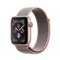 Apple Watch Series 4 40mm Gold Aluminum Case with Pink Sand Sport Loop MU692, Gold