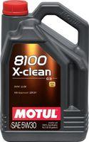 Масло моторное Motul DPF, 5W30 8100 X-CLEAN+  5L