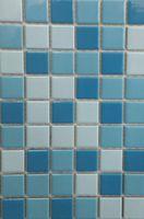 Mozaică din ceramică K60062 (mix albastru)