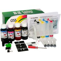 CISS ColorWay Canon MG2440CN-4.1NC, For MG-2440 2450 2540 2550 IP2840 (damper) with ink 4x100ml