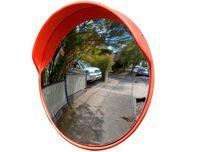 купить Зеркало дорожное сферическое круглое, с защитным козырьком - 80 cm в Кишинёве