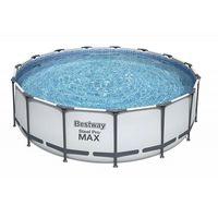 Bestway Бассейн метал каркас Steel Pro Maxl, 457x122 см