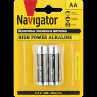 Батарейки серии NBT-NE (Щелочные высокой мощности) AA
