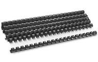 DELI Пружина пластиковая DELI A4/12.5мм, 100 штук, черная