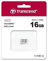 Карта памяти MicroSD Transcend TS16GUSD300S