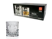 Set pahare pentru whisky Oasis 6 buc, 320ml