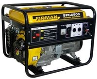 Генератор SPG 6500T AC 220/380В 5 кВ Бензин FIRMAN